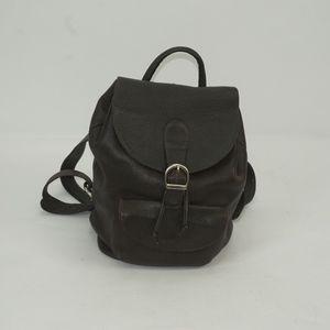Handbags - Vintage Eddie Bauer Soft Leather Back Pack